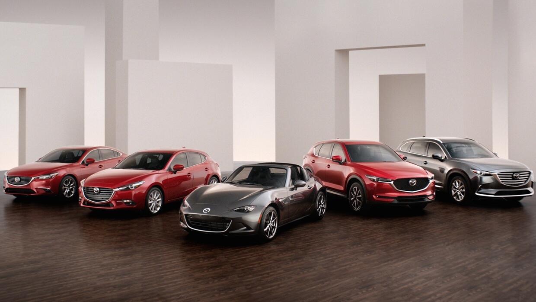 Línea de autos Mazda 2017 disponible en Estados Unidos.