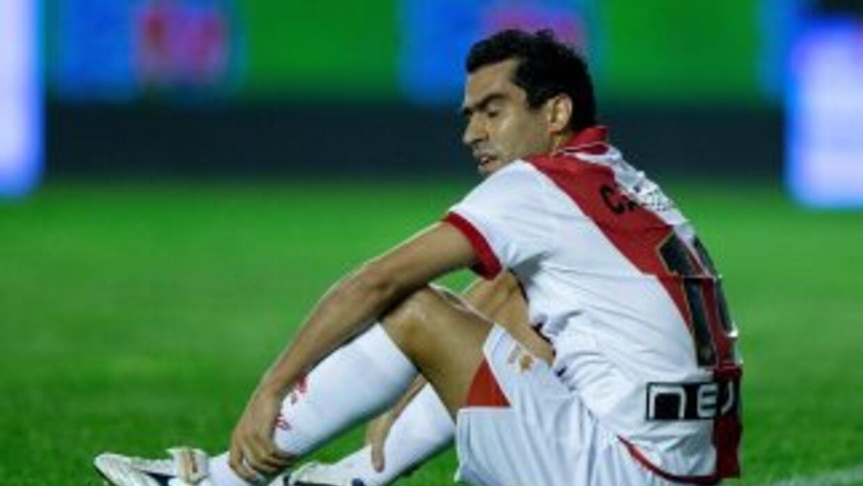 Castillo volvió a ser descartado por el entrenador Paco Jémez.