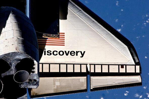 El Discovery le ha dado la vuelta a la Tierra 5.628 veces, a 28.000 Km/h...