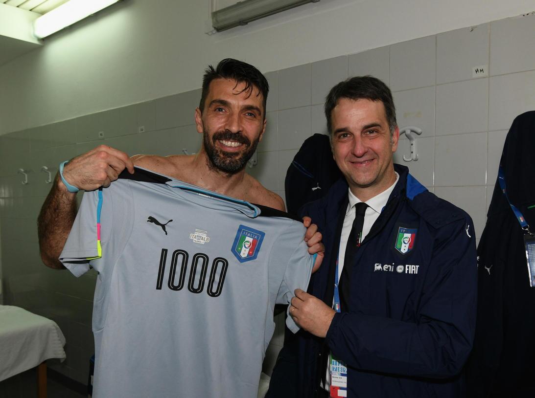 Buffon y otros cracks del fútbol que están en el club de los 1,000 parti...