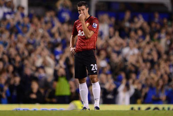 Derrota final de 1-0 para el Manchester United, que ni con Van Persie pu...