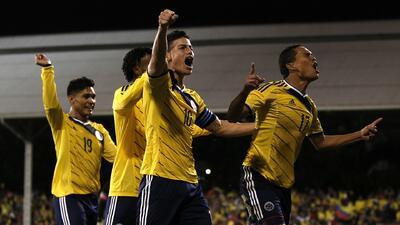 Estados Unidos 1 - Colombia 2: Los cafeteros remontan para ganar