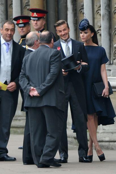 Y por fin llegó una de las parejas más esperadas, el futbolista David Be...