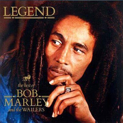 10) Bob Marley.