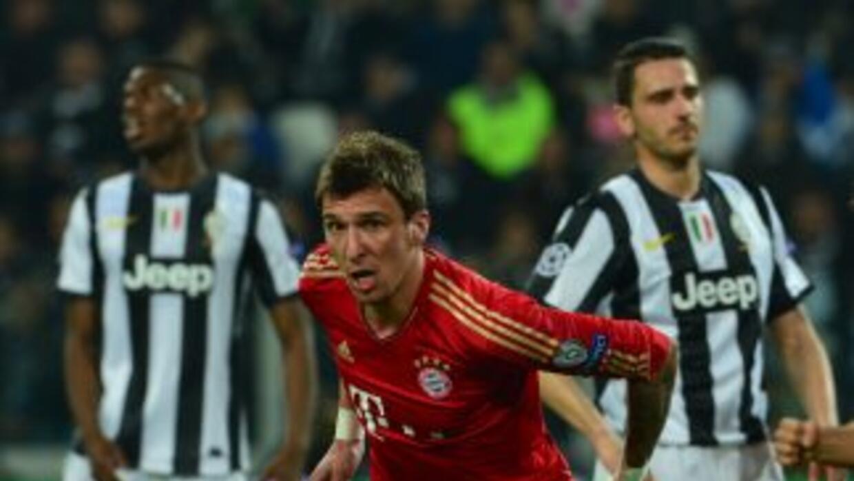 El croata Mario Madzukic abrió el marcador en la casa de la 'Vecchia Sig...