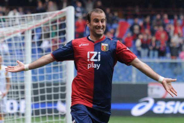 Vuela también Rodrigo Palacio luego de marcar para el Génova en la Coppa.