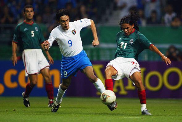 Al partido ante Italia disputado en Oita, México llegaba como líder de g...