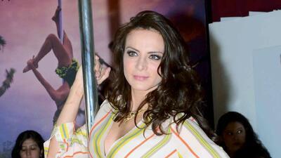 Silvia Navarro se quitó los prejuicios para interpretar a una 'teibolera'