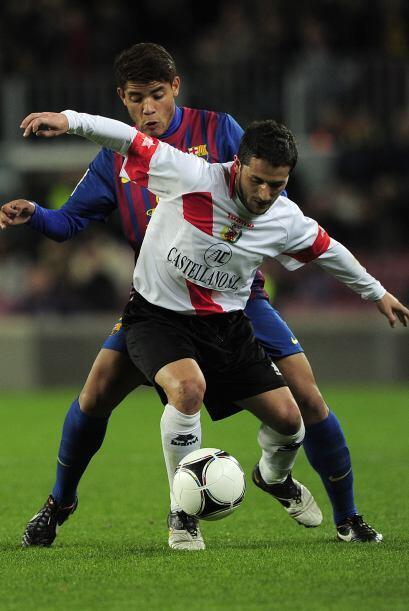 Para el segundo tiempo, el mexicano Jonathan Dos Santos entró al campo.