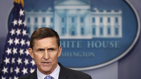 Michael Flynn, asesor de seguridad nacional de la Casa Blanca.