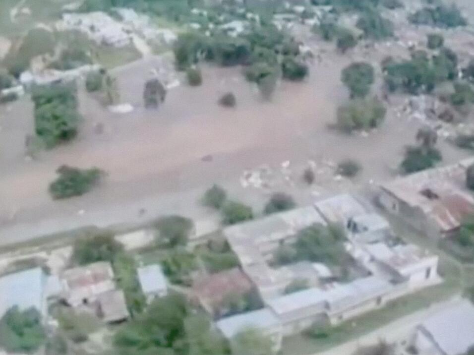 11,000 hectáreas de cultivos fueron afectadas. Nada quedó...