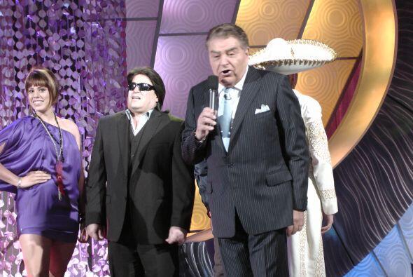 Don Francisco recibió a  fanáticos de José Feliciano.