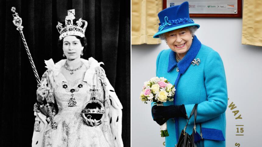 Mira fotos de la Reina Isabel II a través de los años.