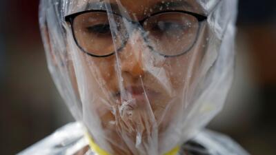 En fotos: El mundo marchó por la ciencia en el 'Día de la Tierra'