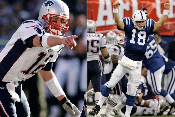 9.- 21 de enero del 2007.- En algo que nadie vio venir, Peyton Manning v...