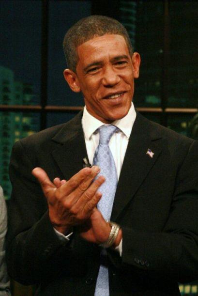Aunque sólo se trataba de un imitador del Presidente, la jauría quedó im...