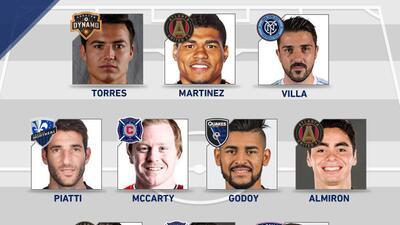 David Villa, 'Cubo' Torres y Nacho Piatti lideran el Equipo de la Semana 2 de la MLS