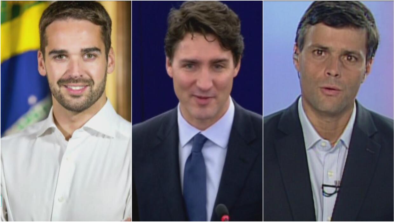 Mira los políticos que enloquecen a las mujeres por lo guapo y atractivo...