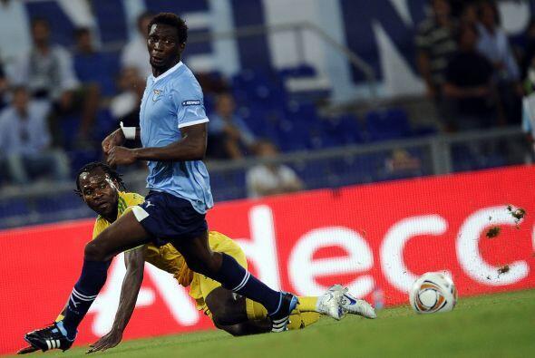 Lazio tenía un rival a modo ante el Vaslui, un emergente club rumano.