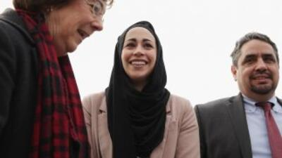 Samantha Elauf, una mujer musulmana que asistió a una entrevista de trab...