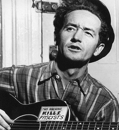 Un poema convertida en canción de Woody Guthrie era el único homenaje qu...