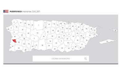puerto rico mapa hormigueros