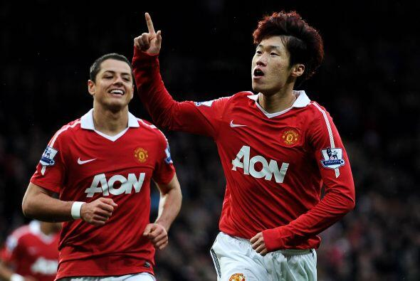El hombre del partido fue Park Ji Sung, autor de los dos goles. 'Man-U'...