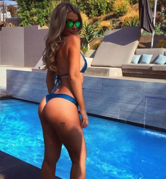 La espectacular modelo australiana es una de las mujeres más bellas del...