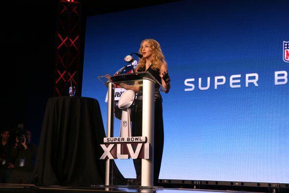 ¿Alguien duda que la actuación de Madonna será todo un éxito?... Es un h...
