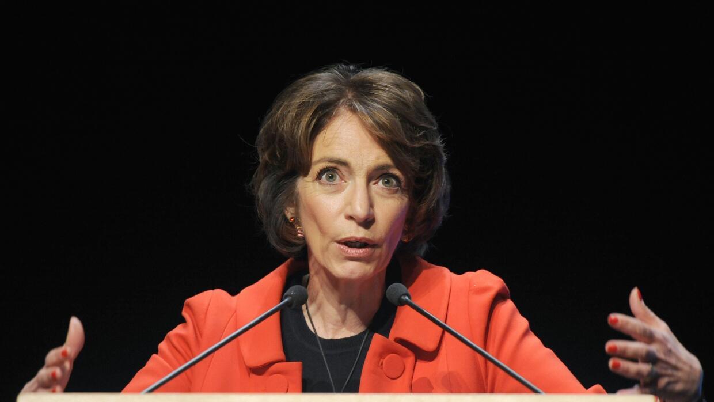 Marisol Touraine, ministra de Asuntos Sociales y Salud de Francia
