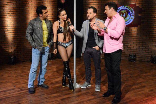 Siguiendo con la noche de 'Table Dance' la invitada Martika Guerrero hab...