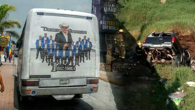 Lo que sabemos sobre el accidente en el que murieron 6 músicos de regional mexicano