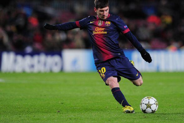 Lionel apenas pisó el campo y mostró su peligrosidad de su talento.
