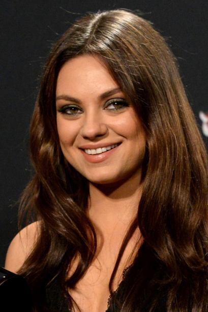 Mila KunisLa actriz se mantiene entre las 10 mujeres más sexys, aunque h...