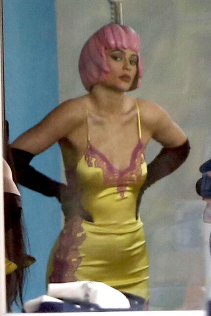 Kylie Jenner en un photo shoot bastante bizarro.