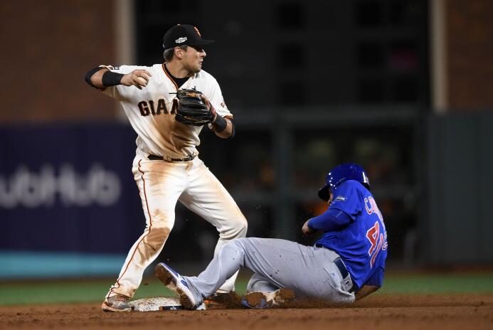 Cubs pierden el tercer juego contra los Giants