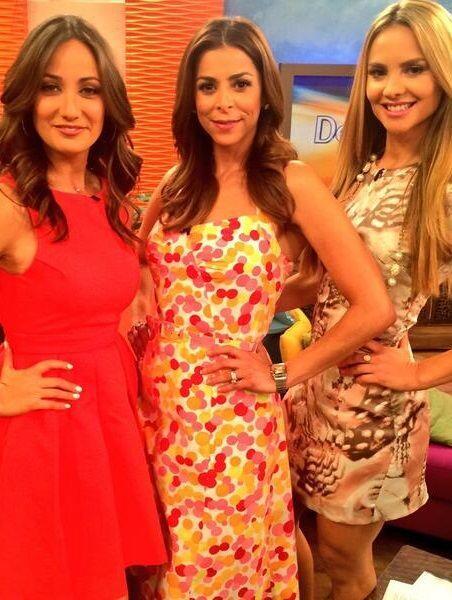 """""""Con las hermosas y talentosas @LourdesStephen y @karlamonroig en @Despi..."""