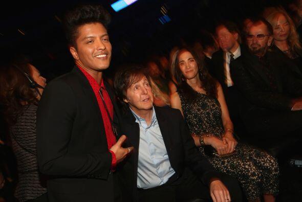 Y uno de los más solicitados fue Sir Paul McCartney. Bruno Mars no podía...
