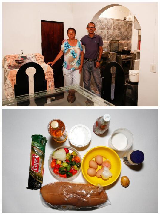Mirella Rivero y su hijo José Rivero muestran más carbohidratos que otro...