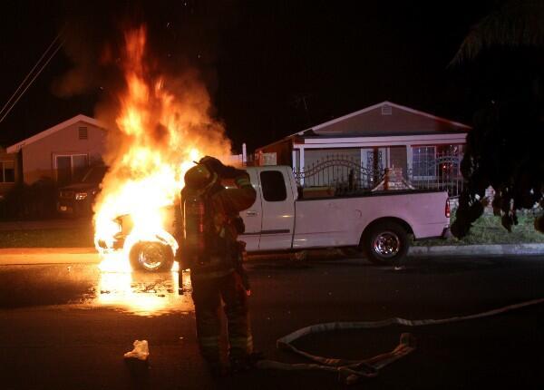 Bomberos en Acción en Los Ángeles