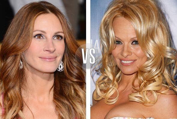Julia Roberts y Pamela Anderson ya no son tan jovencitas, tienen 46 años...