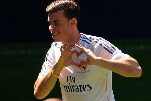 Amor total entre el madridismo y Bale desde este primer momento, &iquest...