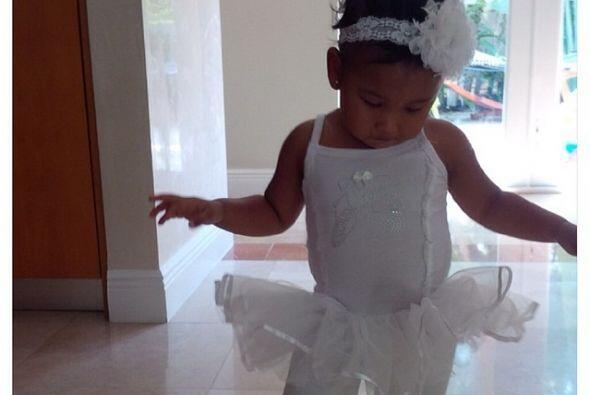 Luce como una hermosa bailarina.