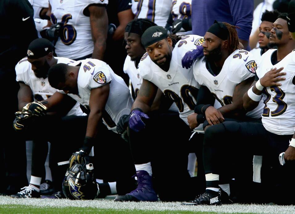 Enfrentaban a los Baltimore Ravens, quienes también tuvieron el m...