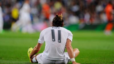 Gareth Bale vuelve a lesionarse