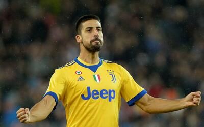 Sami Khedira vuelve a ser relacionado con la MLS por la prensa italiana.