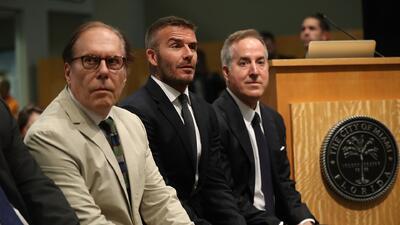 Comisionados posponen la votación sobre la construcción del estadio de David Beckham en Miami