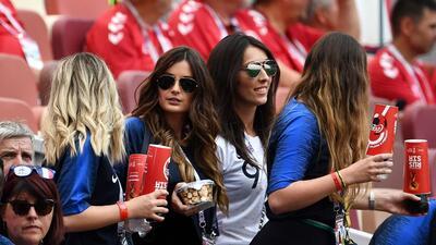 ¡Campeonas!: las mujeres de la selección de Francia en las tribunas de Rusia 2018