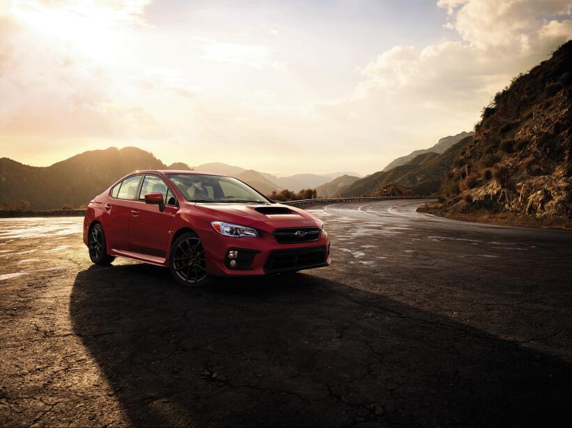 Este es el nuevo Subaru WRX 2018