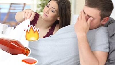 Pareja termina en cuidados intensivos al usar salsa picante como lubricante